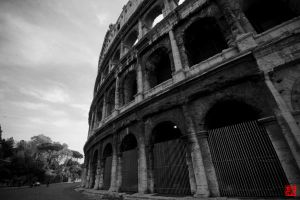 The Colosseum I by m-ajinah