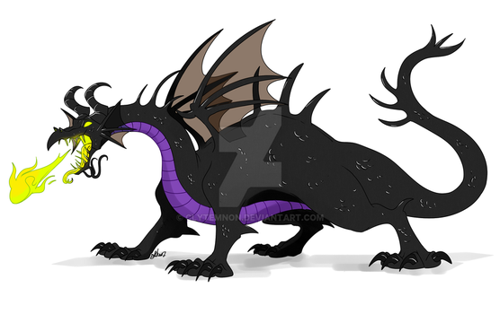 :Dragons: Malefique by Clytemnon
