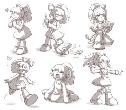 Roll sketches by glitcher