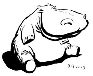 Have a Hippo-blob by Tempted-Fate