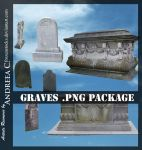 UNRESTRICTED - Graves .PNG Files by frozenstocks