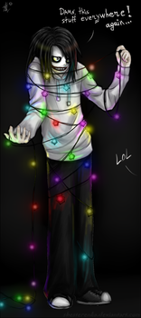 New Year is coming, Jeff ^^ by ShesterenkA