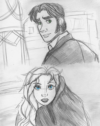 Frozen - Moulin Rouge AU - Your Song by anotakuami