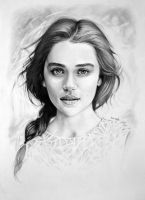 Emilia Clarke by csillabold