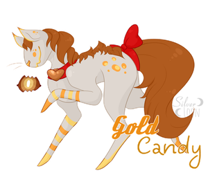 Gold candy ~Cyclot adopt~ [CLOSED] by SilverLoon