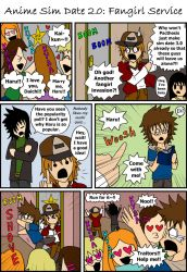 ASD 2.0 Comic: Fangirl Service by Pacthesis