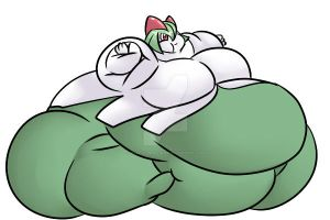 December Commision - Fatty Kirlia by MadEvilIndustries