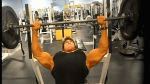 Robin Strand Bench Press Morph by ProteanMuse