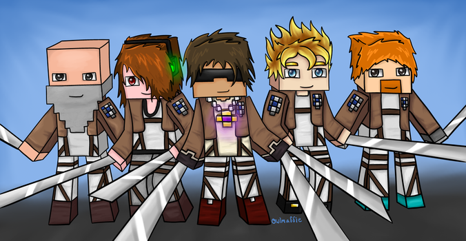Attack on Titan by owlmaddie