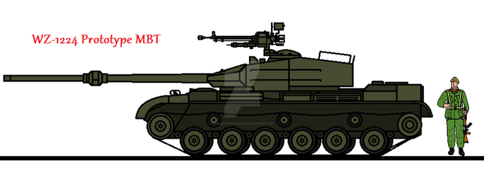 WZ-1224 Prototype MBT by thesketchydude13