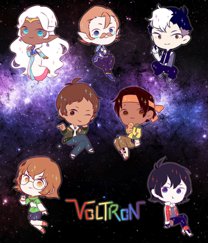 Voltron by fileLoaded