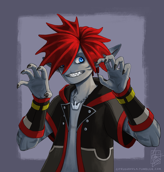 Kingdom Hearts III -Were All Monsters Here by DayOfNone