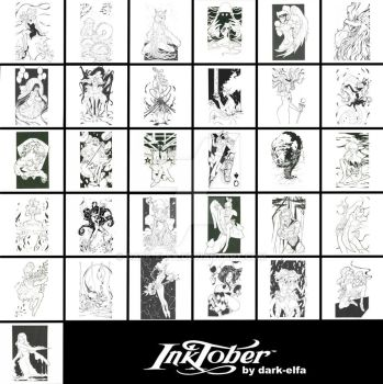 Sailor Moon MOTD : Inktober edition by Dark-elfa