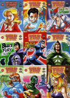Golden Age of Comics V by eisu