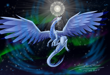 High Comet Dragon: Halley by StormRaven333