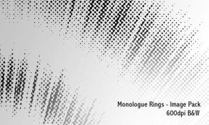 Monologue Rings - 600dpi by screentones
