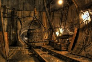 Sewer construction 2 by Ssaash