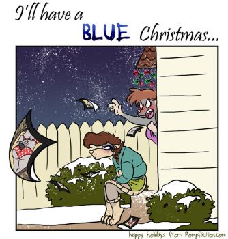 I'll have a Blue Christmas by ThirdPotato
