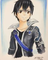 Sword Art Online: Kirito by nime080