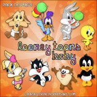 Pack de PNG's Looney Toons Baby by LauraClover