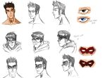Project Lightning Alex FACE designs 001 by kaioutei
