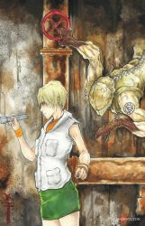 Silent Hill Heather and Valtiel by ChrisOzFulton