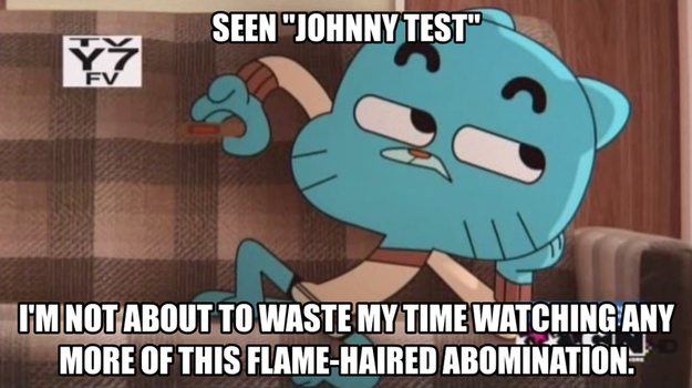 Gumball the Cartoon Critic: Johnny Test by TRC-Tooniversity