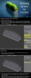 Making grass in Cycles - Tutorial by DeargRuadher