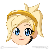 Chibi Mercy by Dimaar
