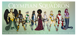 Olympian Squadron by Femmes-Fatales