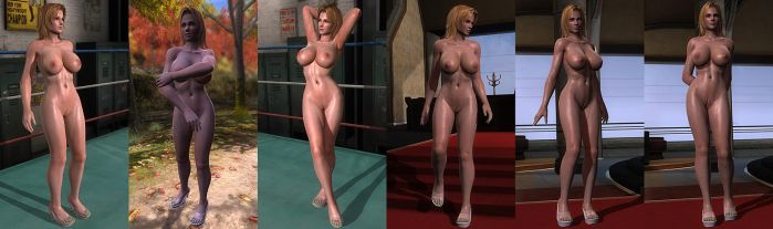 DOA5LR Mod: Nothing but Heels by repinscourge