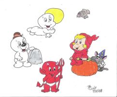 casper and friends the frist 1 by robtoon39