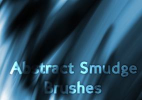 abstract smudge ps brushes by jxtutorials