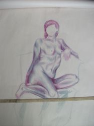 Nude lady by YacklesleWasianClown