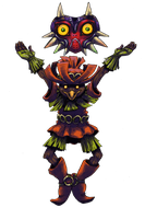 Skull Kid by KelpGull
