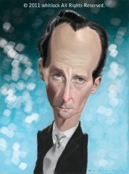 Peter Cushing colorfied by tedwhitlock