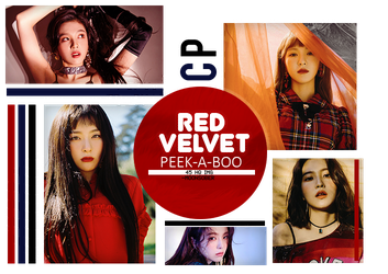 285| RED VELVET (PEEK-A-BOO) PHOTOPACK by CloudPhotopacks