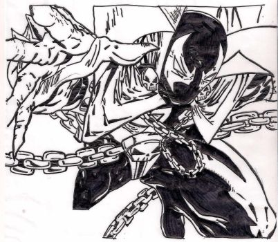 Spawn - sketch by GassyGiant