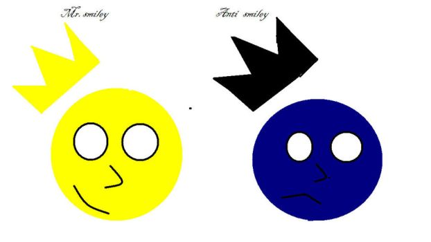 the good and bad smiley by andrizzle1234