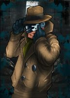 Rorschach of Watchmen by commanderlewis