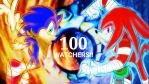 Sonic 'n Knuckles Fire and Ice - for 100 watchers by Zack113