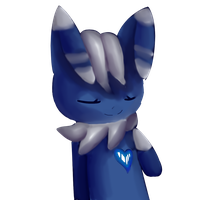 My heart belongs to Meowstic by The-7th-Demon