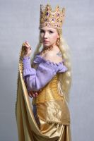STOCK - Queen in Purple by Apsara-Stock