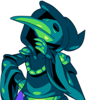 Plague Knight by Tetrislicious
