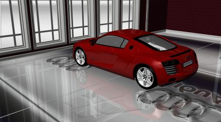 Audi R8-6 by TheRedCrown