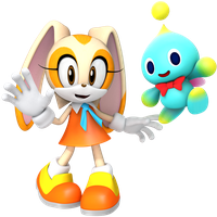 Cream the Rabbit n Cheese the Chao by JaysonJeanChannel