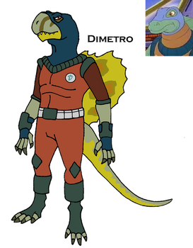 Dinosaucer: Dimetro by HewyToonmore