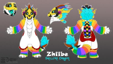 Zhiibe Fursuit Concept by Zhiibe