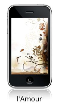 l'Amour Wallpapers 4 iPhone by yopanic
