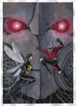 Ant-Man and Wasp by Ceduardocunha